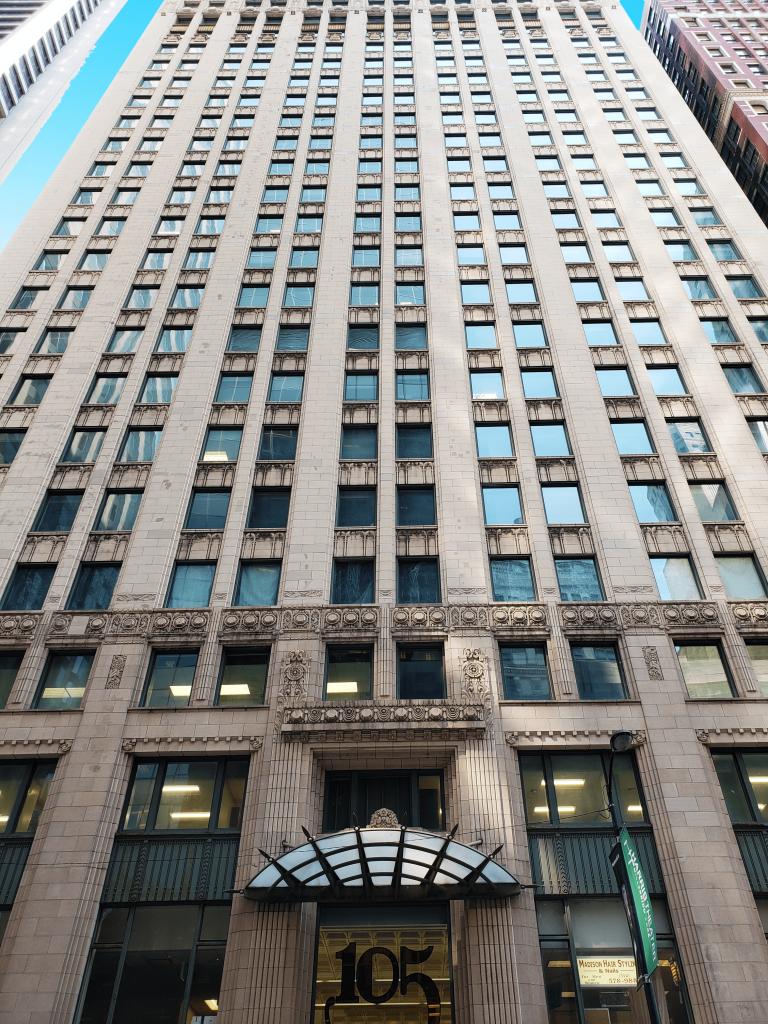 105 W Madison building
